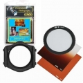 Cokin H211 Landscpe Filter Kit-2 P Series (Filter Holder, Gold Filter #47, Star Filter 8 #56, Gradual Tobacco T2 Filter Soft #125S)*